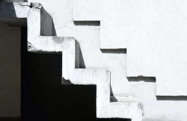 Escaliers blancs